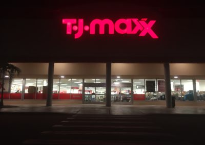 key west electric contractor tjmaxx commercial sign